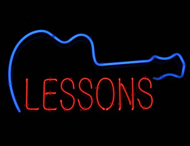 Unterricht, Gitarre, Western, E-Gitarre, Lehrer, Kurs